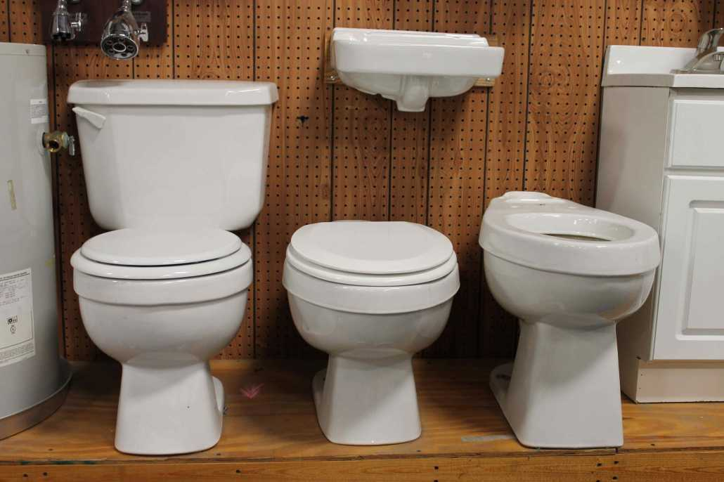Captial Supply of Columbia SC Hardware Store Plumbing---Toliets